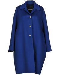 CALVIN KLEIN 205W39NYC Coat - Blue