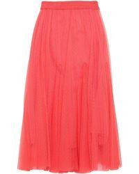 Suoli 3/4 Length Skirt - Red