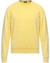 Blauer Sweatshirt - Yellow