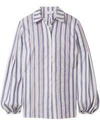 Gabriela Hearst Shirt - Blue