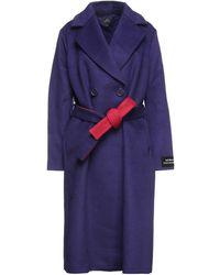 Armani Exchange Manteau long - Violet