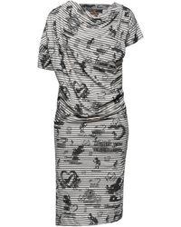Vivienne Westwood Anglomania Knee-length Dress - Grey