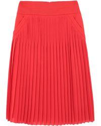 Givenchy Jupe mi-longue - Rouge