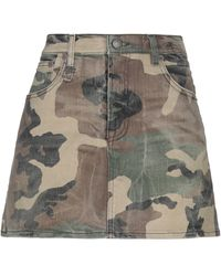 R13 Denim Skirt - Multicolour