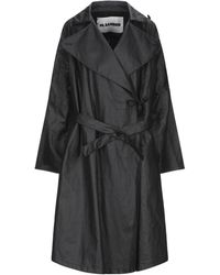 Jil Sander Overcoat - Black