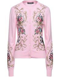 Dolce & Gabbana Cardigan - Pink
