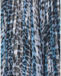 Roberto Cavalli Jupe midi - Bleu