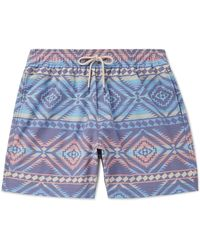 Faherty Brand Swimming Trunks - Blue