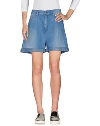 Hartford - Denim Bermudas - Lyst