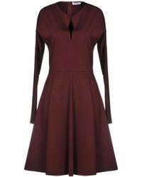 Dondup Short Dress - Purple