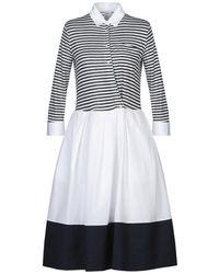 Sara Roka Knee-length Dress - White