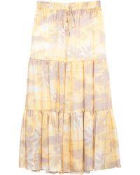 Max & Moi Long Skirt - Multicolour