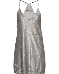 Angela Davis Short Dress - Grey