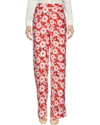 Twin Set Casual Trousers - Red
