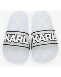 Karl Lagerfeld Sandals - White