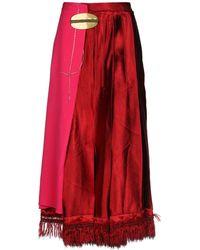 Marni 3/4 Length Skirt - Red