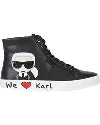 Karl Lagerfeld High-tops & Trainers - Black