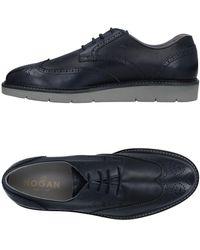 Hogan Zapatos de cordones - Azul