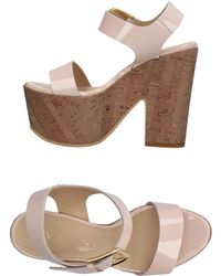 Vicini Tapeet Sandals - Pink