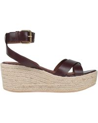 Ba&sh Sandals - Brown