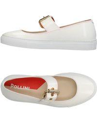 Pollini Low Sneakers & Tennisschuhe - Weiß