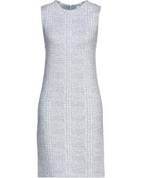 Amina Rubinacci Short Dress - Grey