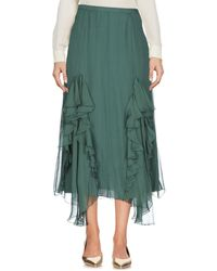 Rochas - 3/4 Length Skirt - Lyst
