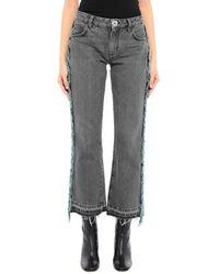 Alanui Pantalon en jean - Noir