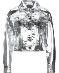 Fendi Denim Outerwear - Metallic