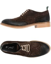 Snobs Lace-up Shoe - Brown