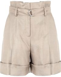 Karl Lagerfeld Bermuda Shorts - Natural