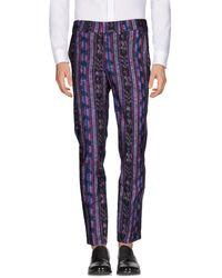 Stella Jean Casual Trousers - Purple