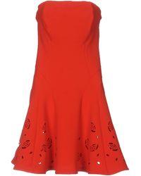 22 Maggio By Maria Grazia Severi Kurzes Kleid - Rot