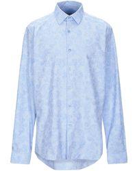 Versace Chemise - Bleu