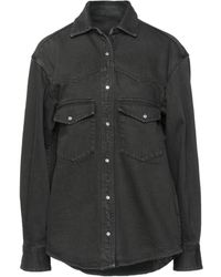 Nine:inthe:morning Camicia jeans - Nero