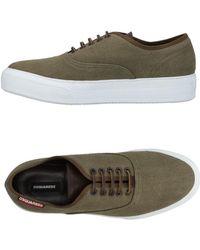 DSquared² Low Sneakers & Tennisschuhe - Grün
