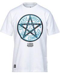 Converse T-shirt - Bianco