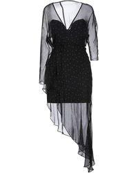 Michelle Mason Vestito corto - Nero