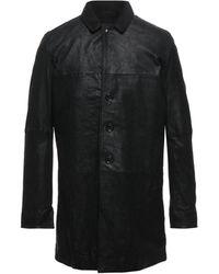 John Varvatos Overcoat - Black