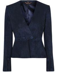 Adam Lippes Suit Jacket - Blue