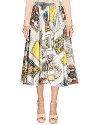 Olympia Le-Tan - 3/4 Length Skirts - Lyst