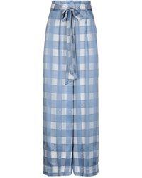 Temperley London Casual Trouser - Blue