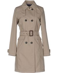 Herno - Canvas Trench Coat  - Lyst