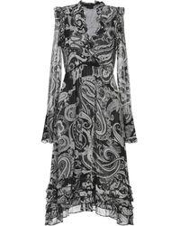 Pinko Midi Dress - Gray