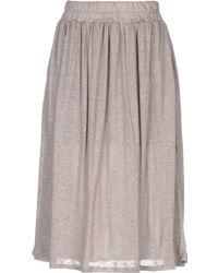Cruciani - Knee Length Skirt - Lyst