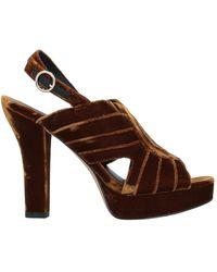 Diane von Furstenberg Sandals - Brown