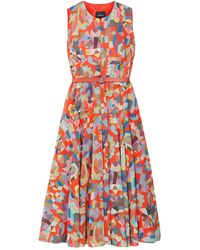 Akris Midi Dress - Multicolour