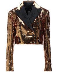 Dolce & Gabbana Suit Jacket - Metallic