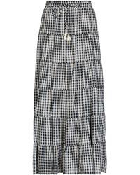 Souvenir Clubbing Long Skirt - Blue