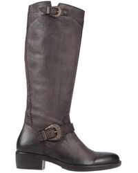 Inuovo Knee Boots - Brown